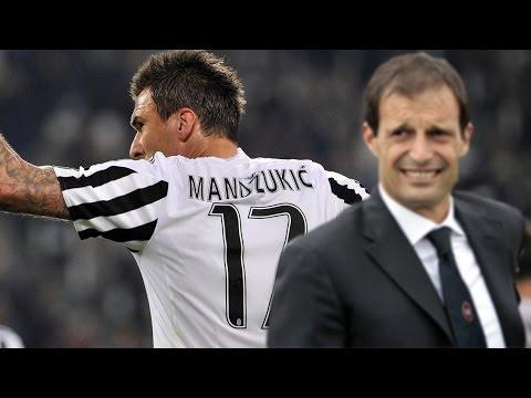 Mario Mandzukic sẽ cùng Juventus lật đổ sự thống trị của Real Madrid