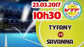 TRỰC TIẾP | TYFANY (BD) vs SAVANNA (QĐ) | CHUNG KẾT TRÊN 18 - GIẢI VĐ NỮ TOÀN QUỐC 2017