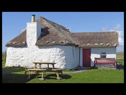 Howmore, South Uist and its Youth Hostel