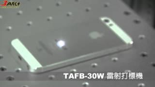TAFB-TLS系列 金屬雷射打標雕刻機-Laser engraving on metal - IPHONE5