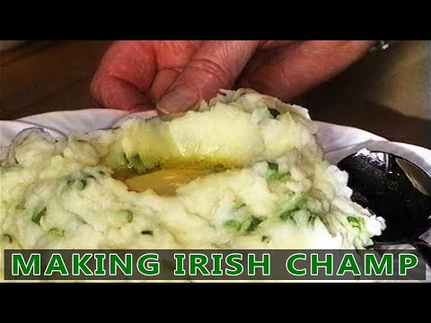 Traditional Irish Cooking - Making Champ