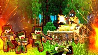 RETURNING FIRE! (MASSIVE WAR!) - NAMCRAFT - 4 - (Minecraft Vietnam War Roleplay)