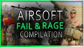 20 Minutes! Airsoft Fail & Rage Compilation Nr. 13 (Learn from mistakes)
