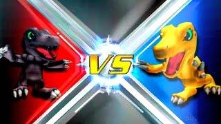 Blackagumon vs Agumon [Rumble Arena 2]