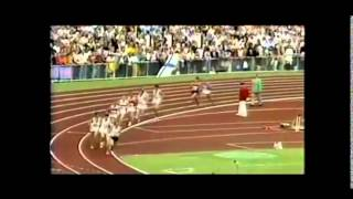 Steve Prefontaine 1972 5000m Final (English Commentary )