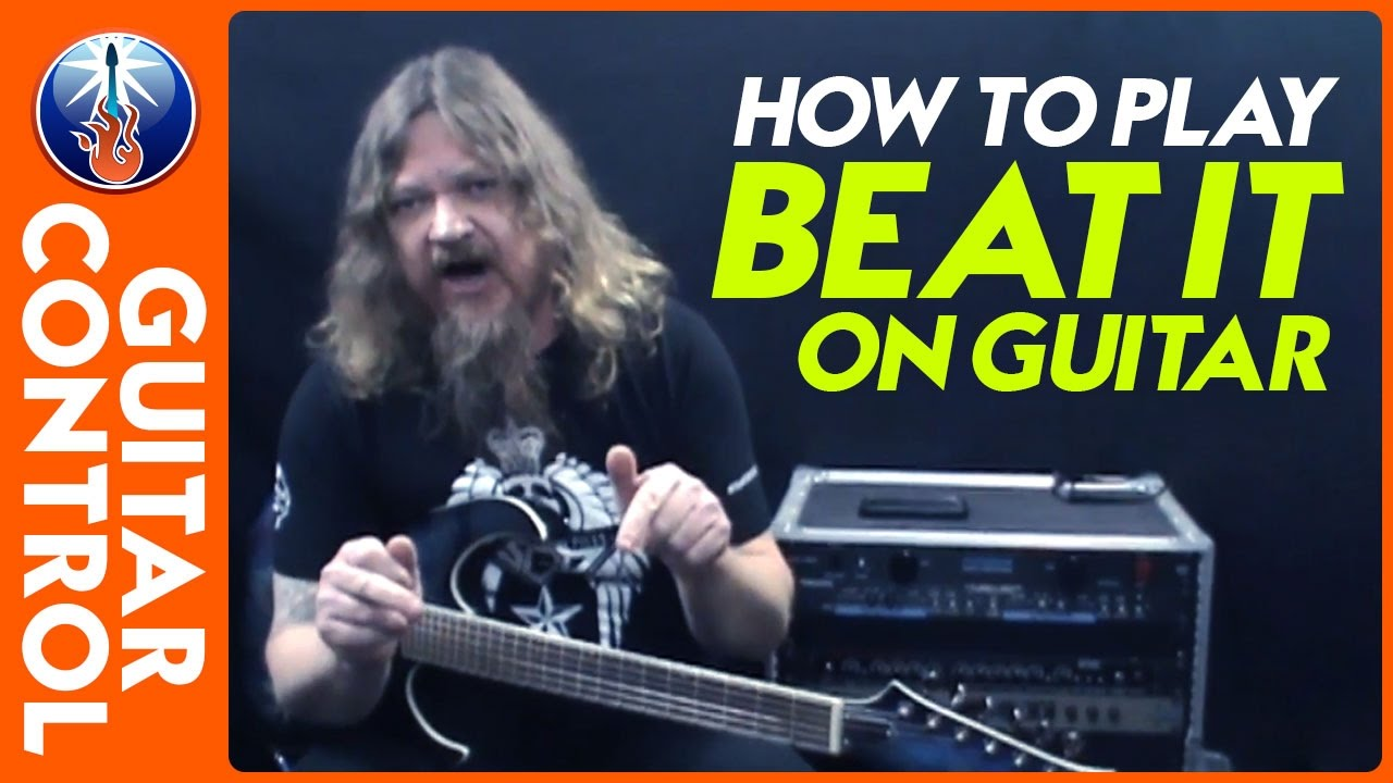 how to play beat it on guitar michael jackson guitar lesson youtube. Black Bedroom Furniture Sets. Home Design Ideas