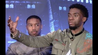[FULL] Marvel's BLACK PANTHER Press Conference
