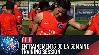 Training session -  entrainements de la semaine with edinson cavani & neymar jr