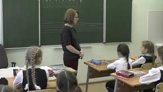 Урок сольфеджио в 3 классе