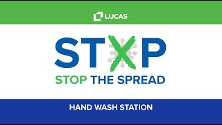 Stop The Spread Hand Wash Stations