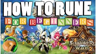 SUMMONERS WAR How to Rune Your Monster Basic Guidelines for Beginners
