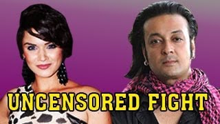 BIGG BOSS 6 - Aashka Goradia's UNCENSORED BIG FIGHT with Santosh - DON'T MISS !!!