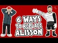 6 ways Liverpool can REPLACE Alisson! ► OneFootball x 442oons