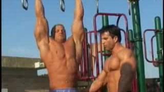 Bodybuilders Sagi Kalev and Chad Ray Martin