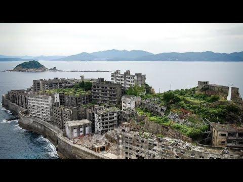 Exploring Worlds Largest Abandoned City In 4K | Hashima Island Gunkanjima Battleship Island