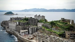 Worlds Largest Abandoned City | Battleship Island (Hashima Island)