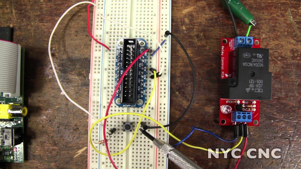 Control A Dc Motor With Raspberry Pi And Sparkfun Beefcake Relay Using How To Tutorial From Nyc Cnc Youtube