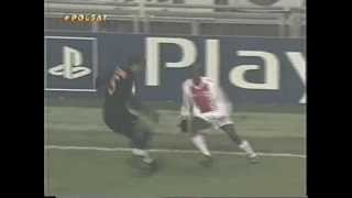 Liga mistrzów 2002/2003, ii faza grupowa, grupa bajax amsterdam - as roma 2-1 (1-0)bramki: ibrahimović 11', litmanen 66' batistuta 88'komentarz: andrzej ja...