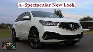 2019 Acura MDX Test Drive Review: Squeaking By On Good Looks