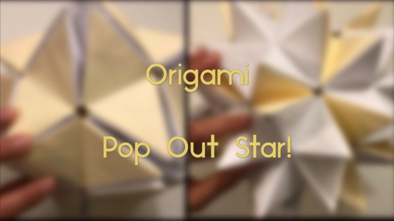 Origami Star Pop-Up Card, Designed By Jeremy Shafer - Not A ... | 720x1280