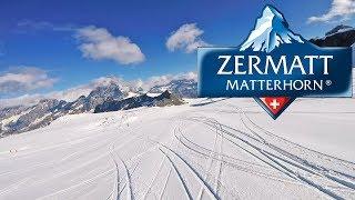 Skiing in Switzerland - Summer skiing Zermatt - full ride from 3800m to 2900m (7km) - July 2018