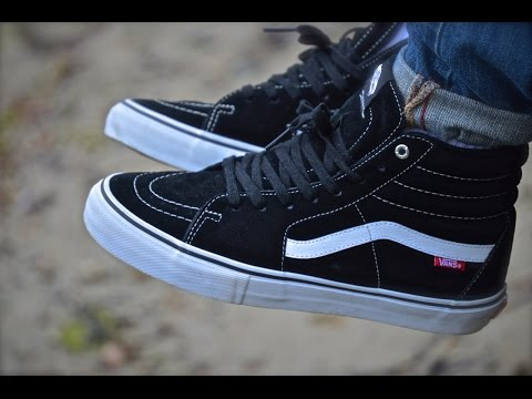 How to clean shoes | Vans Sk8 Hi Restoration