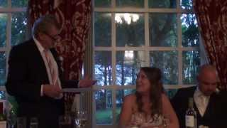 Funny Father of Bride Speech