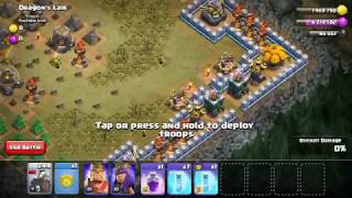 Clash of Clans TH9 3 star Devil's Lair (Halloween Troops)