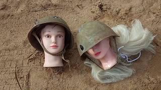 Тест військової каски СРСР, стріляємо постріл в шолом СШ 68