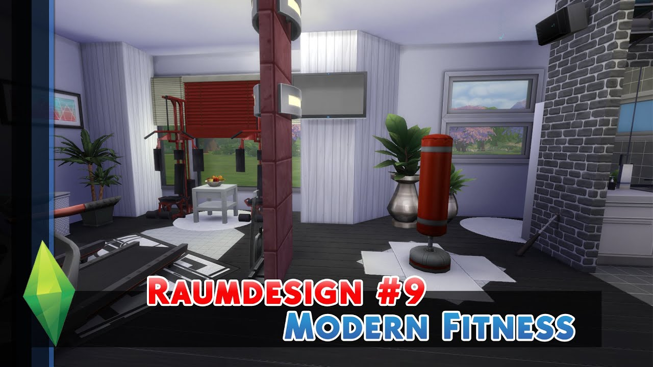 sportlich, sportlich! - die sims 4 raumdesign/roomdesign #9, Badezimmer ideen
