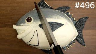 マグロケーキ解体ショー / Bluefin Tuna Cake Dismantling Show