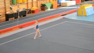 Спортивная гимнастика. 3 взрослый разряд у девочек. Вольные.