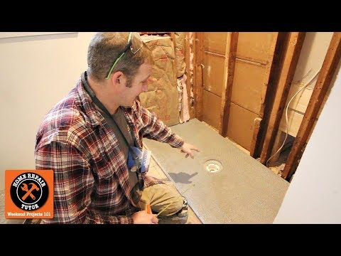 How to Build a Walk-In Shower (Part 2 - Installing KBRS ShowerSlope)