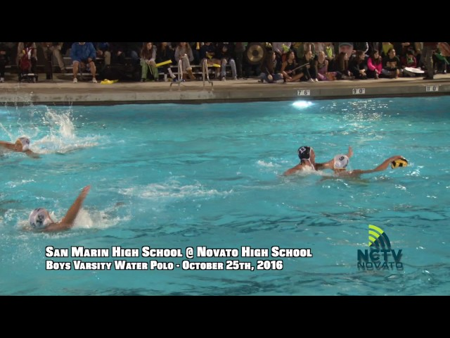 Game of the Week | SMHS @ NHS | Boys Varsity Water Polo ( 10-25-2016 )