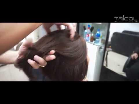 Màu Tóc Đẹp 2019 | Nâu Cafe sáng trên nền tóc Bob cố điển