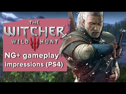 Video: How much harder is The Witcher 3 NG+? Here's some gameplay