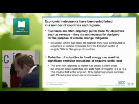 Thomas Bruckner om omlegging av energisystemer under klimaseminar om sårbarhet, risiko og løsninger