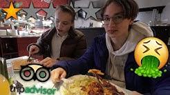 Söimme Helsingin HUONOIMMAKSI arvostellussa ravintolassa ft. Robbe