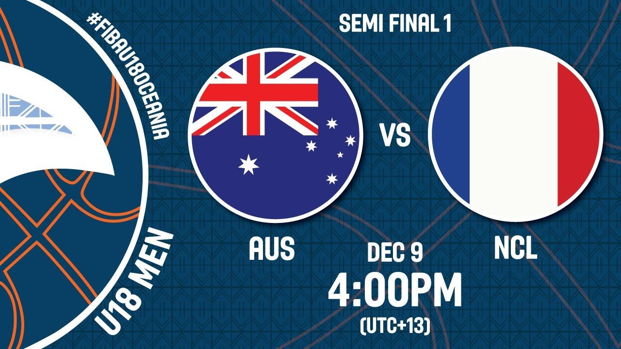 Australia v New Caledonia - Live Stream - FIBA U18 Oceania Championship 2016