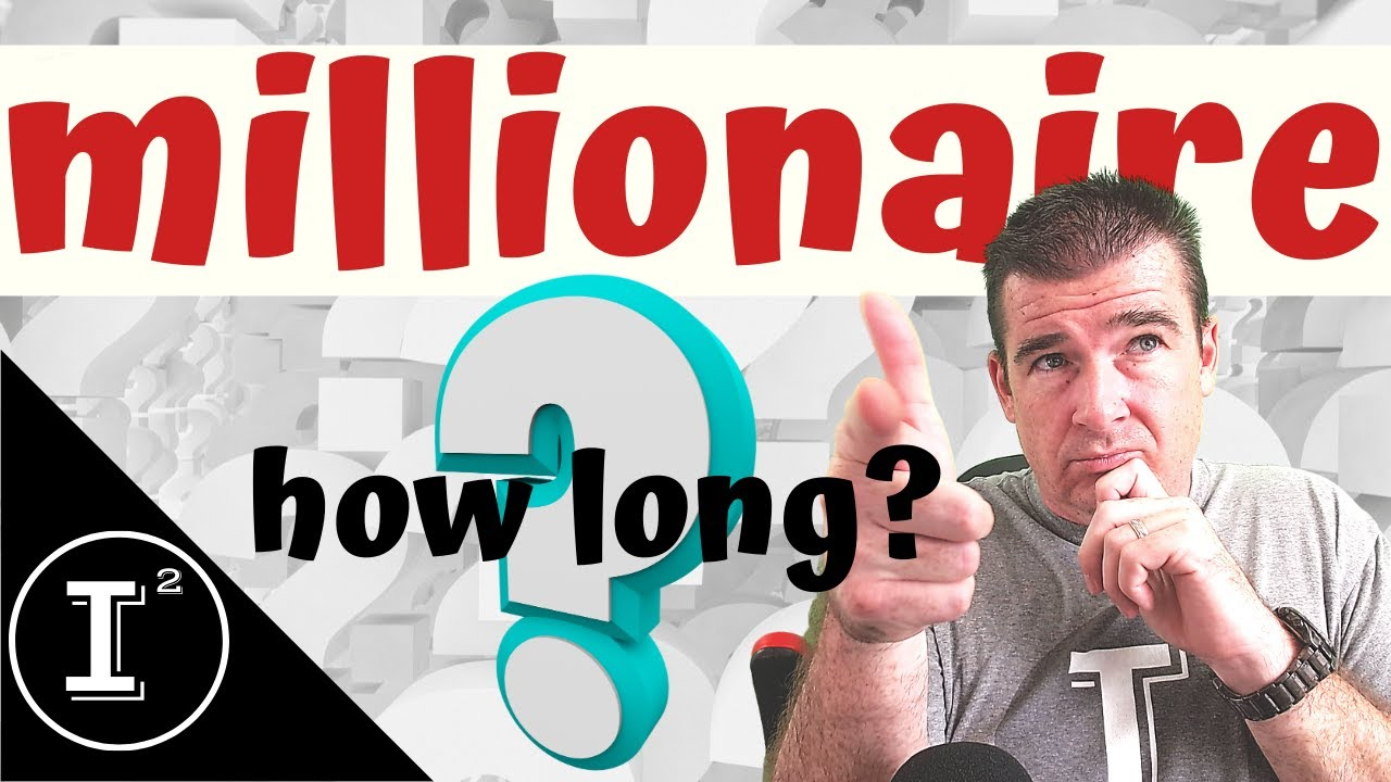 How long will it take to become a millionaire?  How much money should I invest every month? (DCA)