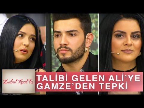 Zuhal Topal'la 160. Bölüm (HD) | Talibi Gelen Ali'ye, Gamze'den Tepki!