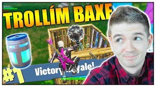 VYTROLEN IMPULSE GRANÁTEM! (Fortnite /w Baxtrix, Herdyn)