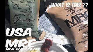 อาหารพร้อมทาน USA MRE (Pack 14)