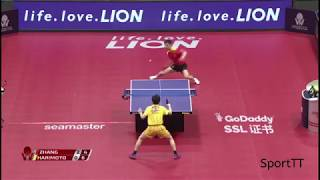 Zhang Jike vs Tomokazu Harimoto [ Japan Open 2018 ] Final