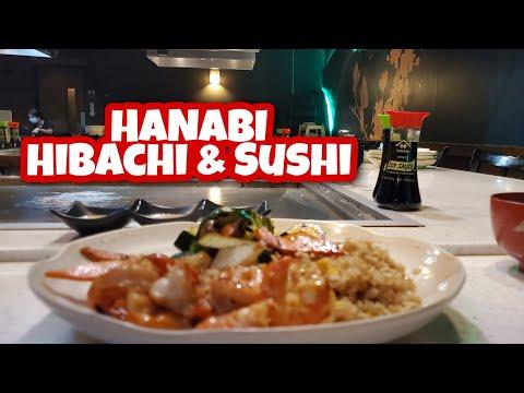 [Vlog⁵⁷] HANABI | HIBACHI \u0026 SUSHI