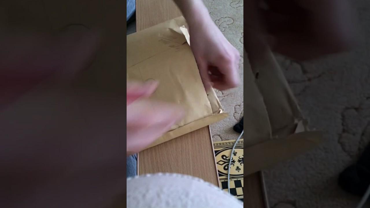 Распаковка книги Гарри Поттер и Философский Камень. - YouTube