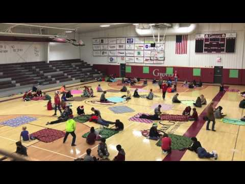 Oak Grove Lutheran School | TIme Lapse of Blanket Day 2016