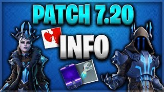 PATCH 7.20 BEST Update FOR HL - FORTNITE SAUVER THE WORLD