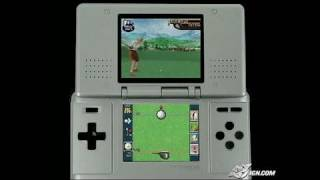 True Swing Golf Nintendo DS Gameplay - E3 2005 footage