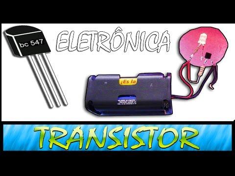 Transistor ! FUNCIONAMENTO+EXPLICAÇÃO+PRATICA ( AULA GRÁTIS )